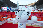 pyeongchanggun south korea mascot soohorang is