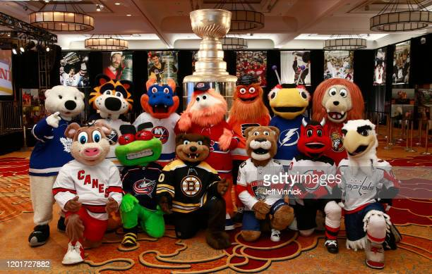 Mascots Carlton the Bear of the Toronto Maple Leafs Sabretooth of the Buffalo Sabres Sparky the Dragon of the New York Islanders Youppi of the...