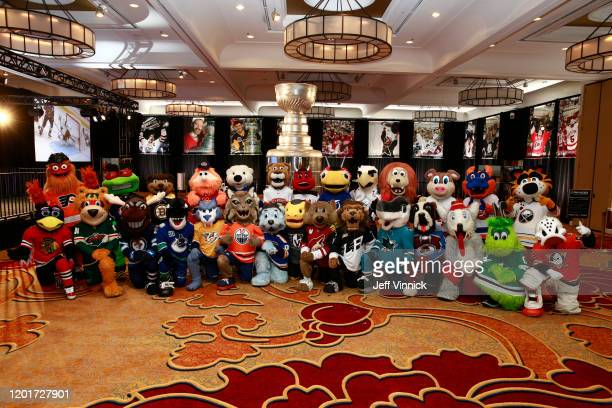 Mascots Gritty of the Philadelphia Flyers Stinger of the Columbus Blue Jackets Blades the Bruin of the Boston Bruins Youppi of the Montreal Canadiens...