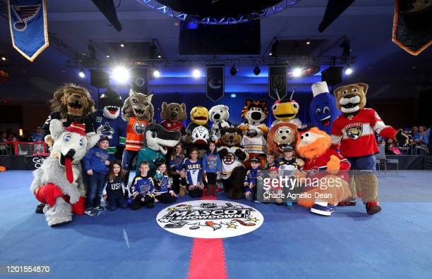 Mascots Harvey the Hound of the Calgary Flames Bailey of the Los Angeles Kings Fin the Whale of the Vancouver Canucks Hunter the Lynx of the Edmonton...