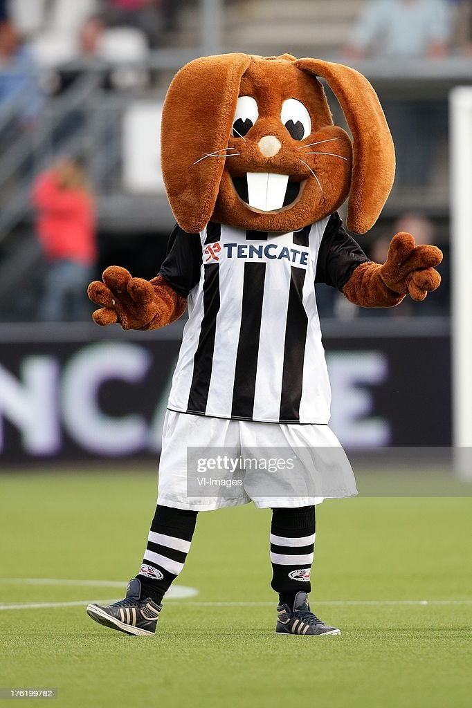 Mascotte of Heracles Almelo during the Eredivisie match between Heracles Almelo and PEC Zwolle on August 10, 2013 at the Polman stadium at Almelo, The Netherlands.