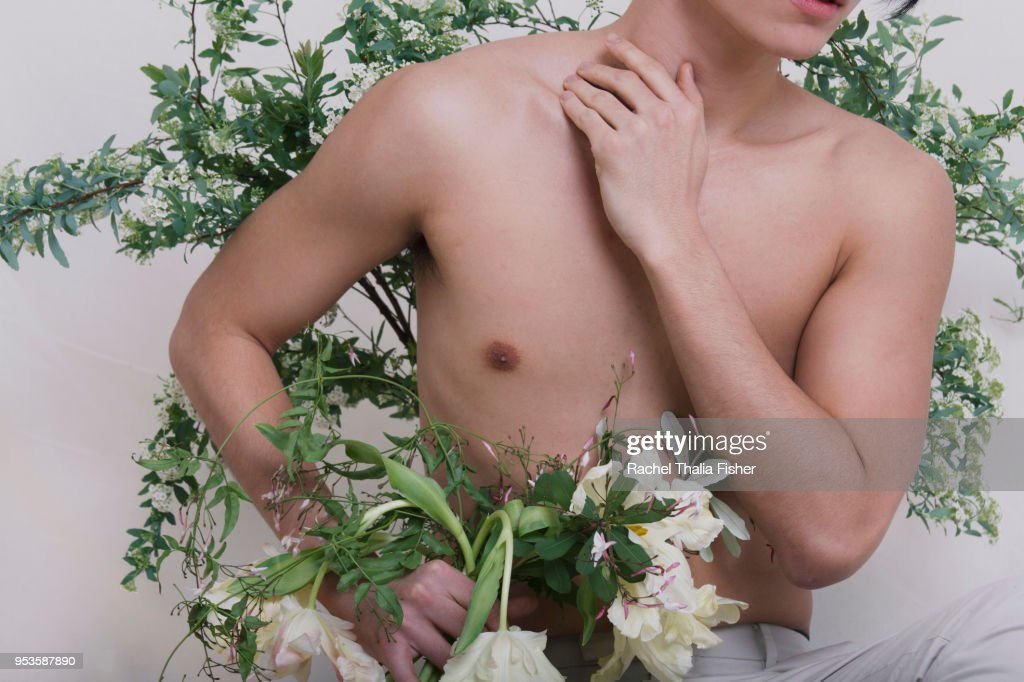 Masculinity Undone : Stock Photo