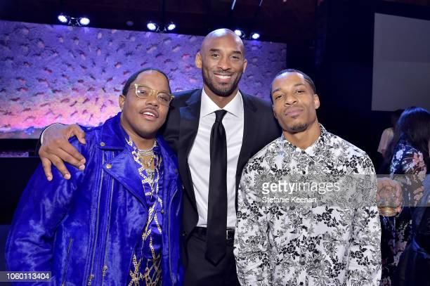 Mase and Kobe Bryant attend the 2018 Baby2Baby Gala Presented by Paul Mitchell at 3LABS on November 10 2018 in Culver City California