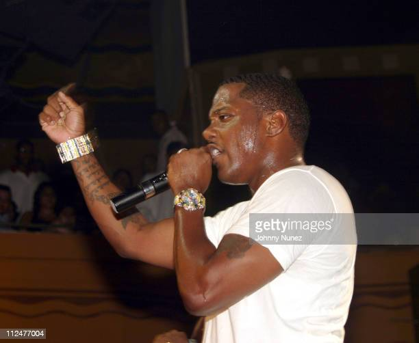 Mase during Mase CD Release Party at Webster Hall in New York City New York United States