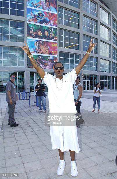 Mase during MTV's TRL 2004 Video Music Awards Edition at American Airlines Arena in Miami Florida United States