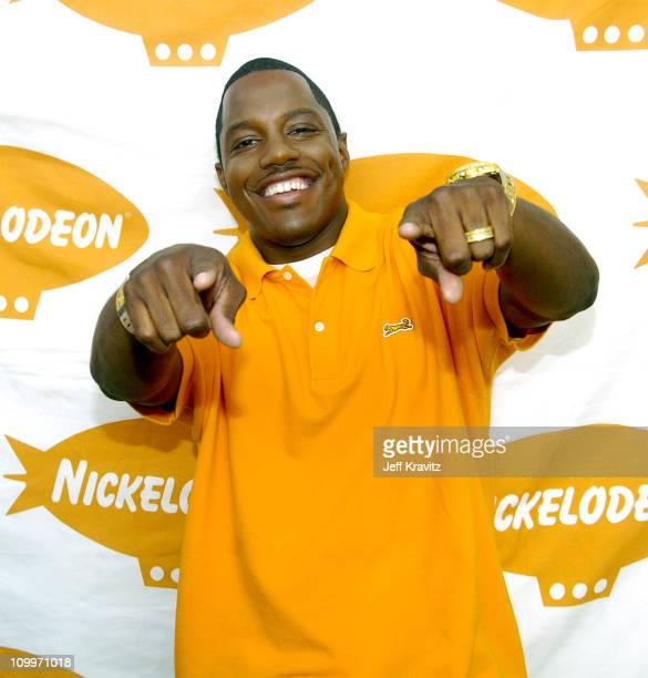 Mase during Nickelodeon's Worldwide Day of Play Backstage at Nick on Sunset Studios in Hollywood in Hollywood California United States