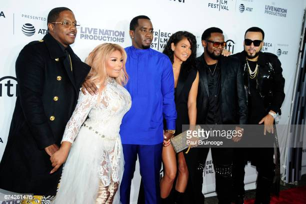 """Mase, Lil Kim, Sean Combs, Cassie Ventura and French Montana attend """"Can't Stop, Won't Stop: The Bad Boy Story"""" Premiere - 2017 Tribeca Film Festival..."""