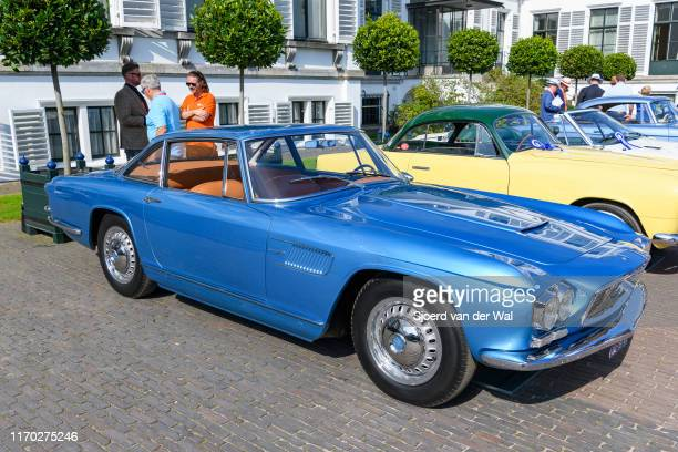 Maserati 3500 GT Coupe Speciale on display at the 2019 Concours d'Elegance at palace Soestdijk on August 25 2019 in Baarn Netherlands This is the...
