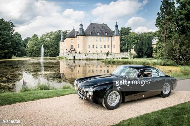 maserati a6g frua berlinetta paris show car sports car - maserati stock pictures, royalty-free photos & images