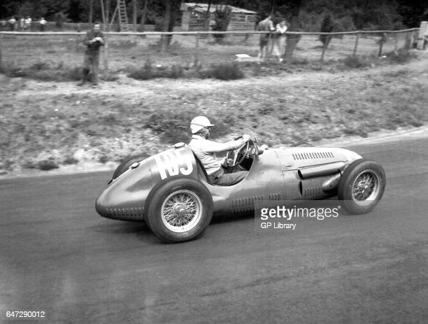 A maserati A6GCM at the German Grand Prix 1952