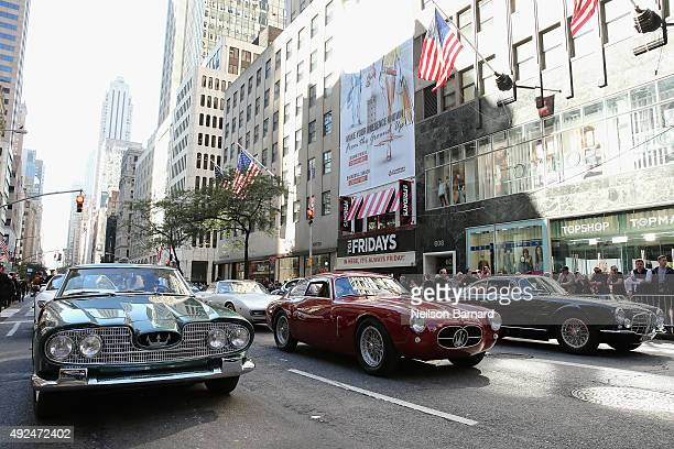 Maserati at the Columbus Day Parade on October 12 2015 in New York City