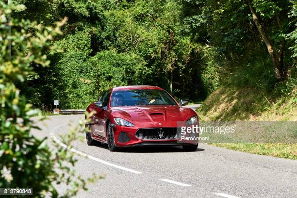 maserati drive test - maserati stock pictures, royalty-free photos & images