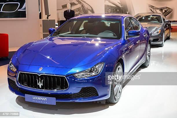 Maserati Ghibli Italian luxury saloon car