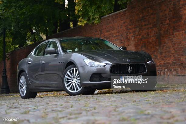 Maserati Ghibli on the street