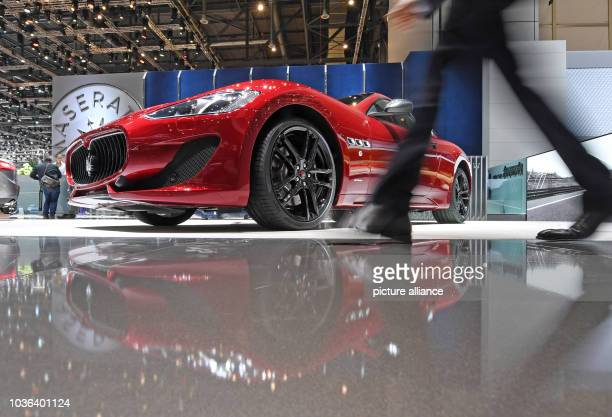A Maserati Gran Turismo at the 87th Geneva International Motor Show The show is open to the press from the 090317 and to the general public from the...