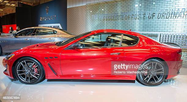 Maserati GranTurismo MC Exotic Car in the Canadian International AutoShow, CIAS for short, is Canada's largest auto show and most prestigious...
