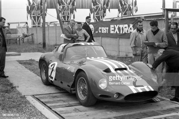 Maserati Tipo 151/3 24 Hours of Le Mans Le Mans 16 June 1963 The Giulio Alfieri designed Maserati Tipo 151 rumored to be the first car to hit 300km/h...