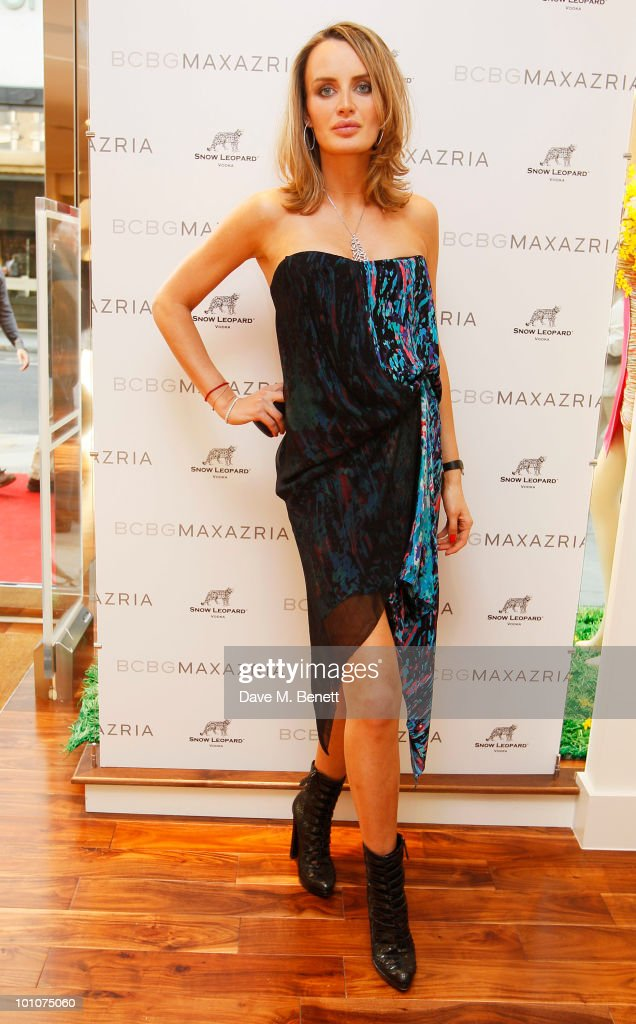Masha Markova attends the store opening of BCBGMAXAZRIA on May 27, 2010 in London, England.