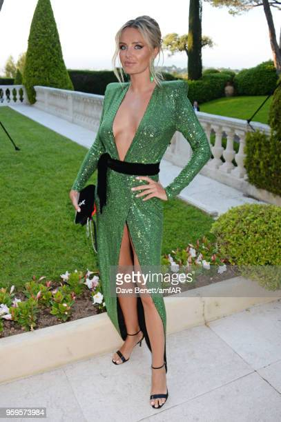 Masha Markova Hanson arrives at the amfAR Gala Cannes 2018 at Hotel du CapEdenRoc on May 17 2018 in Cap d'Antibes France