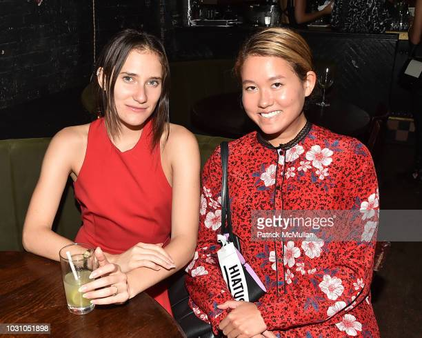 Masha Osorio and Storey Schifter attend the Nicole Miller Spring 2019 After Party at Acme on September 6 2018 in New York City