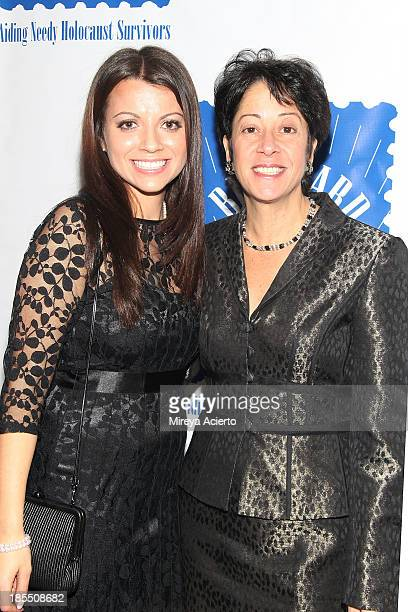 Masha Pearl and Sherry Wilzig Izak attend the 79th annual Blue Card Benefit and Auction at the American Museum of Natural History on October 21 2013...