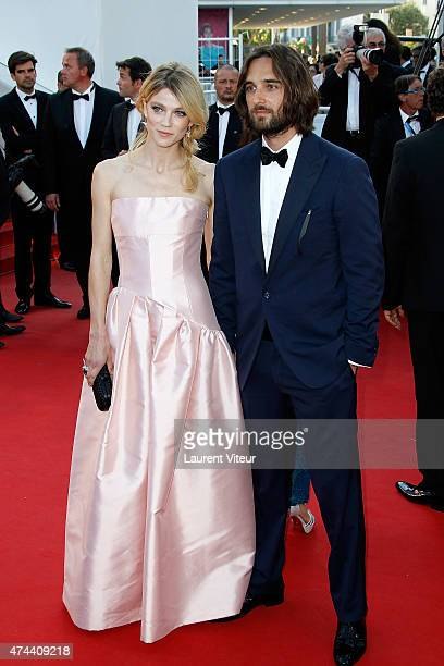 Masha Rassam and Dimitri Rassam attends the 'The Little Prince' premiere during the 68th annual Cannes Film Festival on May 22 2015 in Cannes France