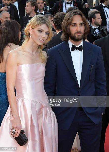 Masha Rassamand Dimitri Rassam attend the Premiere of 'The Little Prince' during the 68th annual Cannes Film Festival on May 22 2015 in Cannes France