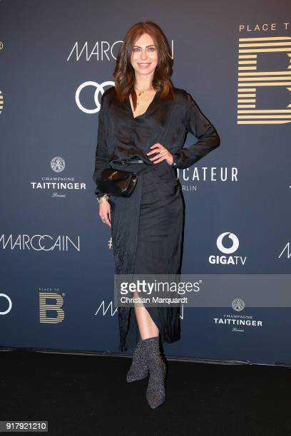 Masha Sedgwick attends the PLACE TO B PreBerlinaleDinner Photo Call at Provocateur on February 13 2018 in Berlin Germany