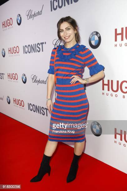 Masha Sedgwick attends the Young ICONs Award in cooperation with ICONIST at SpindlerKlatt on February 14 2018 in Berlin Germany