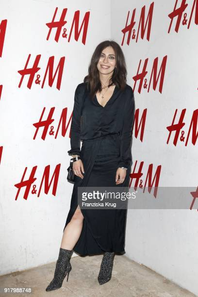 Masha Sedgwick during the Inter/VIEW X HM Party on February 13 2018 in Berlin Germany
