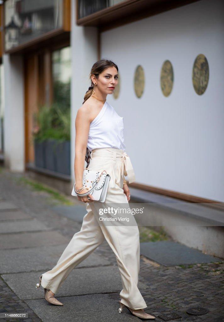 Street Style - Berlin - May 11, 2019 : Fotografía de noticias