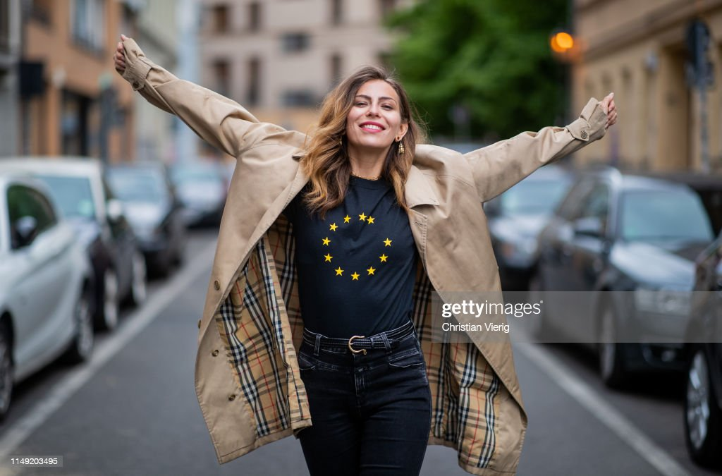 DEU: Street Style - Berlin - May 14, 2019