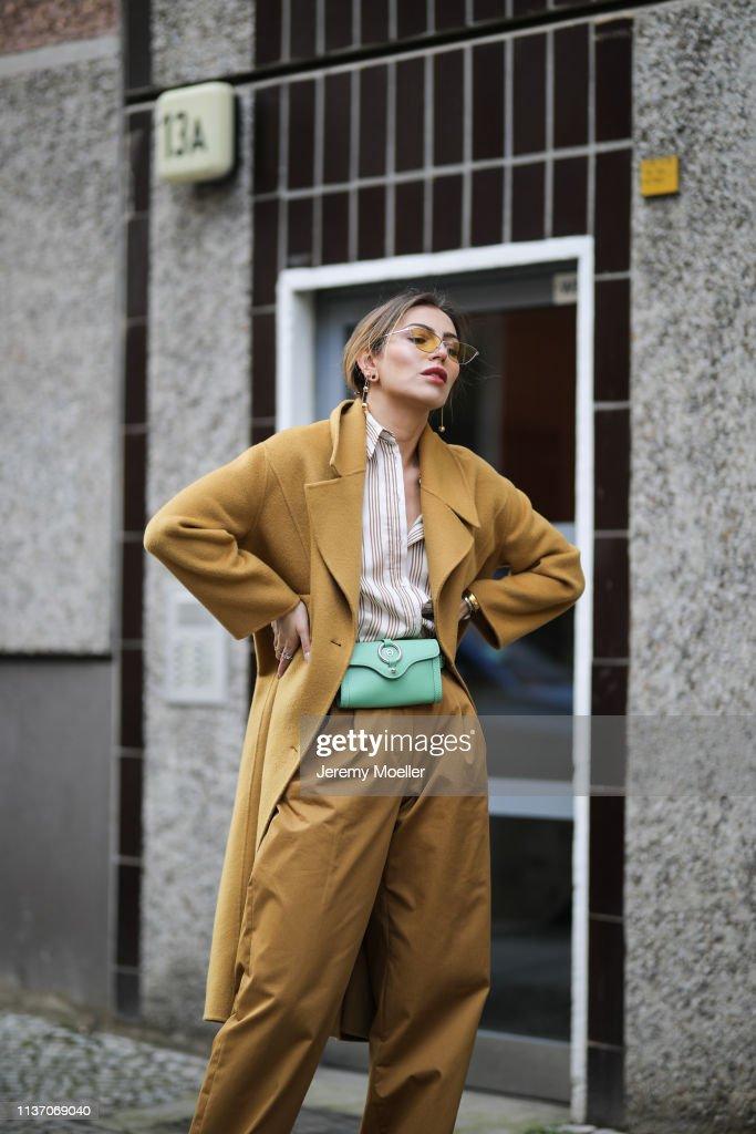 Street Style - Berlin - March 19, 2019 : Fotografía de noticias