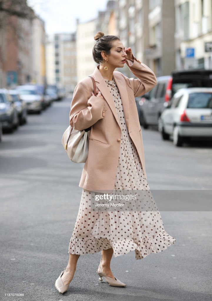 Street Style - Berlin - March 19, 2019 : News Photo