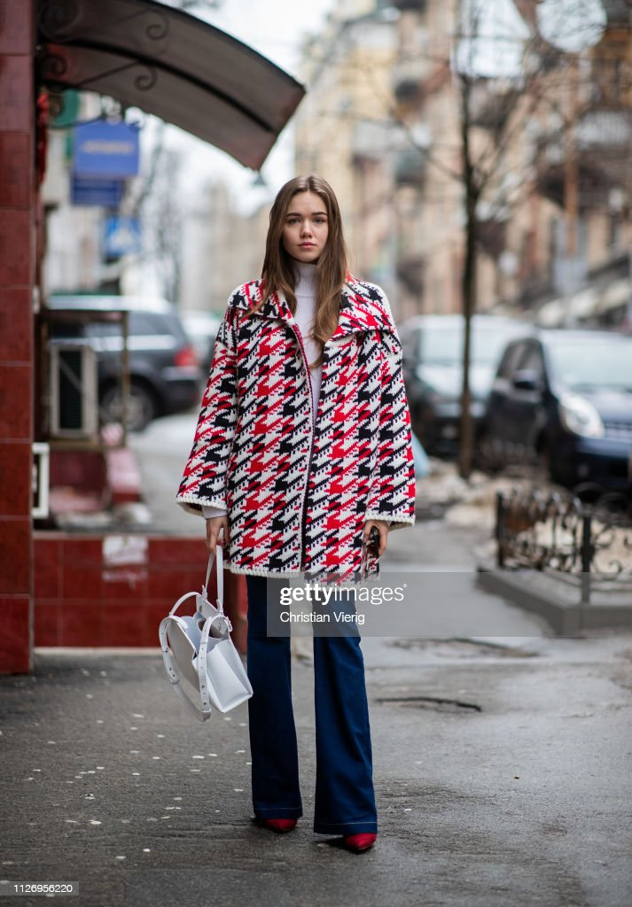UKR: Street Style - Ukrainian Fashion Week 2019/20