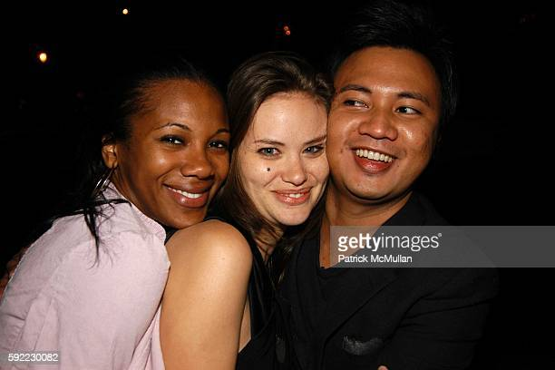 Mashariki Williamson Kristina Ratliff and Ryan Urcia attend A Private Celebration of the Opening Night of Capote and Truman Capote's Birthday...