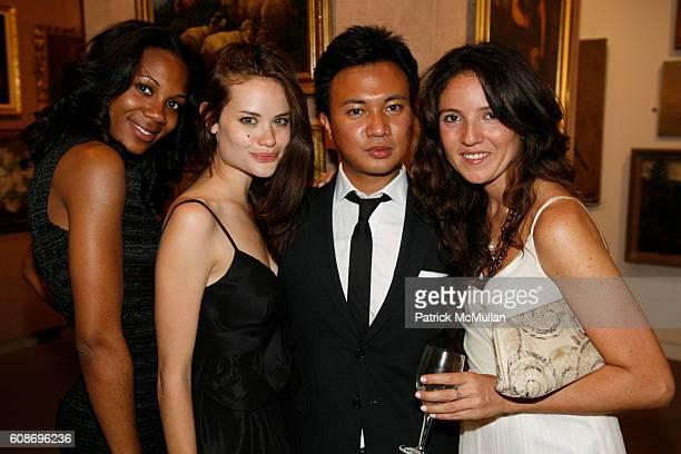 Mashariki Williamson Kristina Ratliff Ryan Urcia and Erna Eliazov attend 9th Annual Russian American Cultural Center Gala at Sotheby's on June 4 2007...