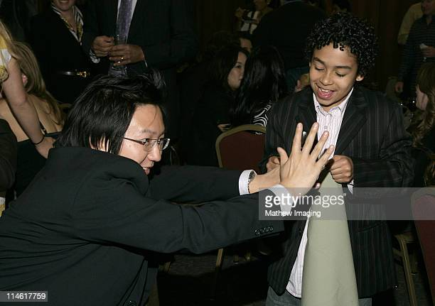 """Masi Oka and Noah Gray-Cabey during The Academy of Television Arts and Sciences Presents An Evening with """"Heroes"""" - VIP Reception at Leonard H...."""