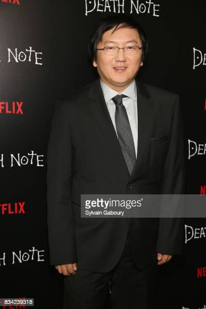 Masi Oka attends Death Note New York Premiere at AMC Loews Lincoln Square 13 theater on August 17 2017 in New York City