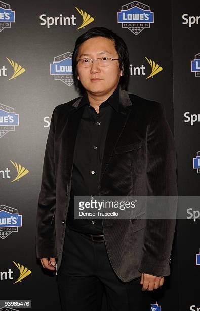 Masi Oka the NASCAR SPRINT Cup party at Lavo at the Palazzo on December 4 2009 in Las Vegas Nevada
