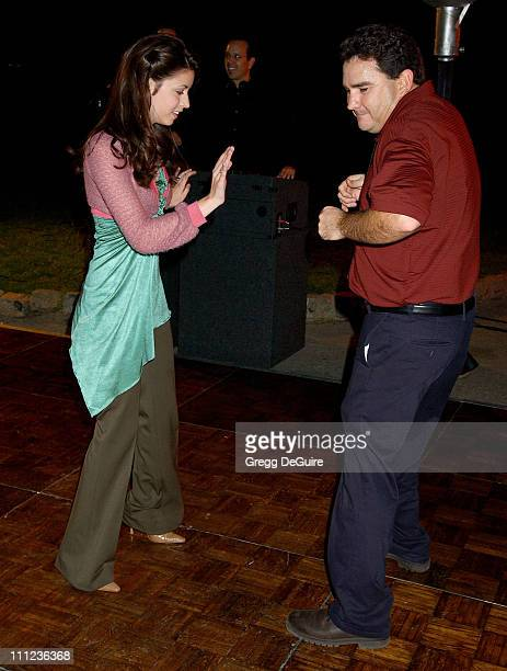 Masiela Lusha and Valente Rodriguez during 2005 ABC Winter Press Tour Party Party at Universal Studios in Universal City California United States