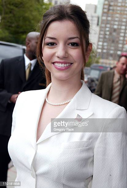 Masiela Lusha during 2003 2004 ABC Television Network UpFront at The Ritz Carlton Hotel at The Ritz Carlton Hotel in New York NY United States