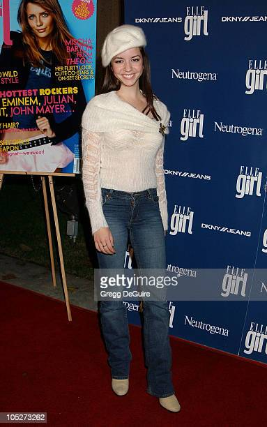 Masiela Lusha during ELLEgirl Celebrates the Holidays with Cover Girl Mischa Barton at Orange County Museum of Art in Newport Beach California United...