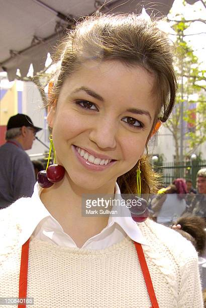 Masiela Lusha during Los Angeles Mission 2004 Easter Celebration at Downtown Los Angeles in Los Angeles California United States
