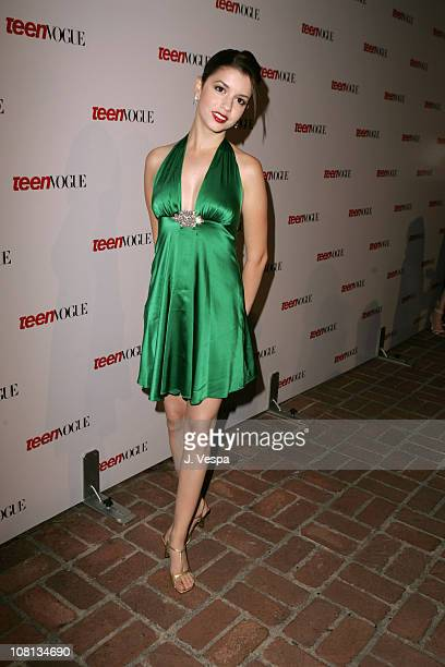 Masiela Lusha during Teen Vogue Young Hollywood Party Arrivals at Chateau Marmont in Hollywood California United States