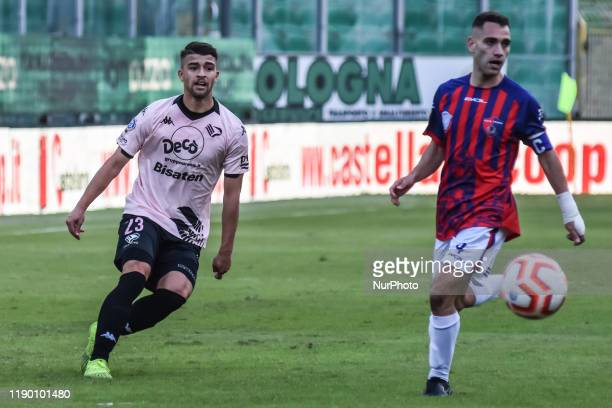 Masimiliano Doda during the serie D match between SSD Palermo and ASD Troina at Stadio Renzo Barbera on December 22, 2019 in Palermo, Italy.