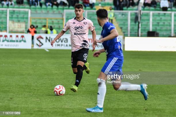 Masimiliano Doda during the serie D match between SSD Palermo and Marsala at Stadio Renzo Barbera on January 05 2020 in Palermo Italy