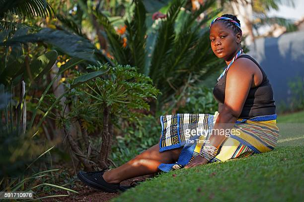 Masindi Mphephu poses for a portrait during an interview on May 02 2016 in Pretoria South Africa The 24yearold Mphephu is the only legitimate child...
