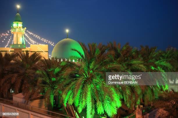 Masjed Jama Imam Zayn Green is color of islam