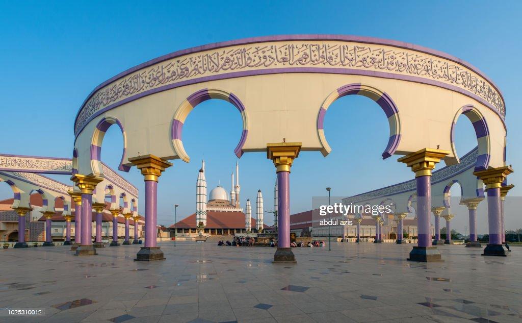 Masjid Agung Semarang Central Java High Res Stock Photo Getty Images